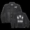 IMAGE   DSP Distressed Denim Jacket (Black) - detail 1