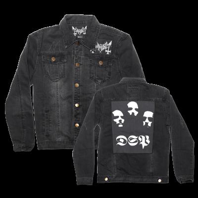 IMAGE   DSP Distressed Denim Jacket (Black)