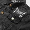 IMAGE   DSP Distressed Denim Jacket (Black) - detail 4
