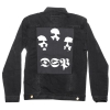 IMAGE   DSP Distressed Denim Jacket (Black) - detail 3