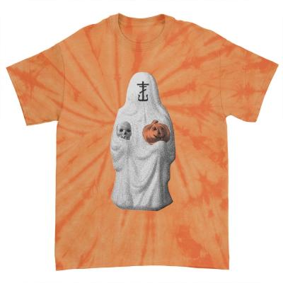 IMAGE | Halloween 2021 T-Shirt (Orange Spider Dye)