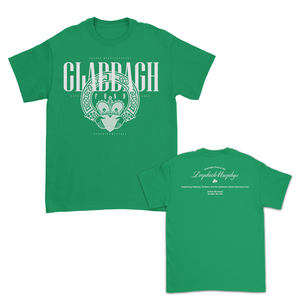 IMAGE   CLADDAGH FUND SHIRT OF THE MONTH (October)