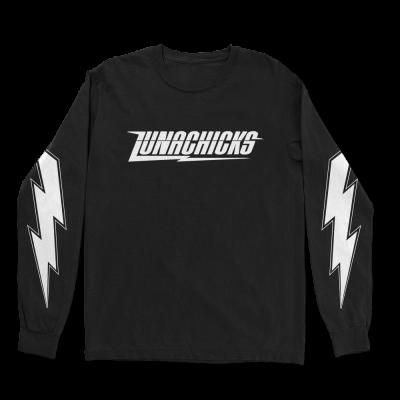 IMAGE | Lightning Bolt Long Sleeve (Black)