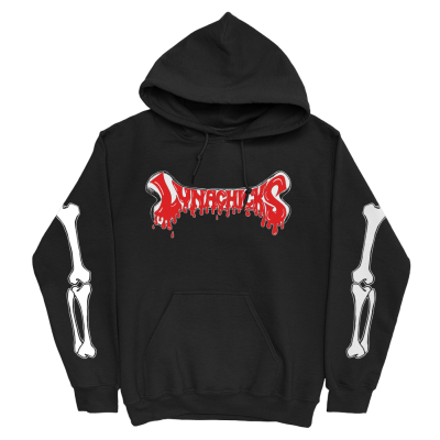 IMAGE | Dripping Bones Pullover Hoodie (Black)