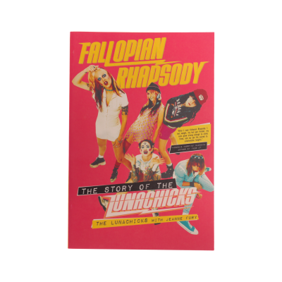 IMAGE | Signed Fallopian Rhapsody Paperback Book
